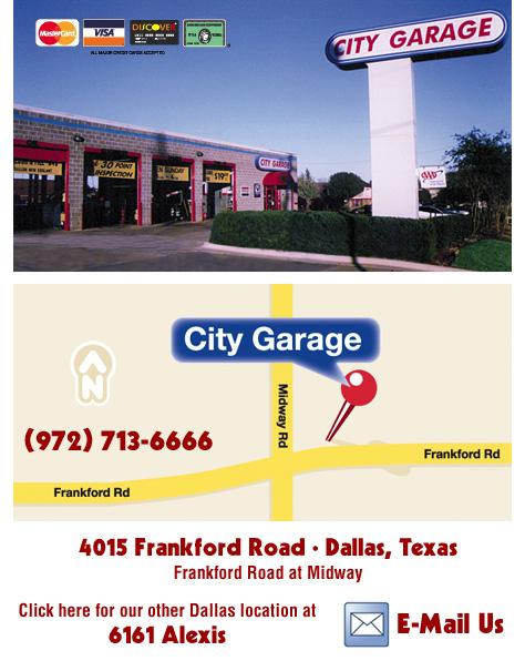 City Garage Dallas Texas